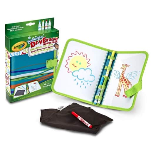 Crayola Washable Dry-Erase Travel Pack Now .30 (Was .75)