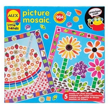 ALEX Toys Little Hands Picture Mosaic Only $5.32