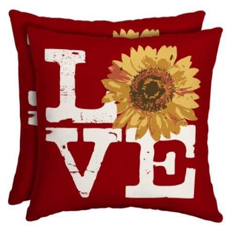 Outdoor Throw Pillows as low as $3.28 each!