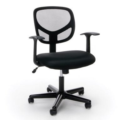 Essentials Swivel Mid Back Mesh Task Chair with Arms Only $37.50 + MORE **Today Only**