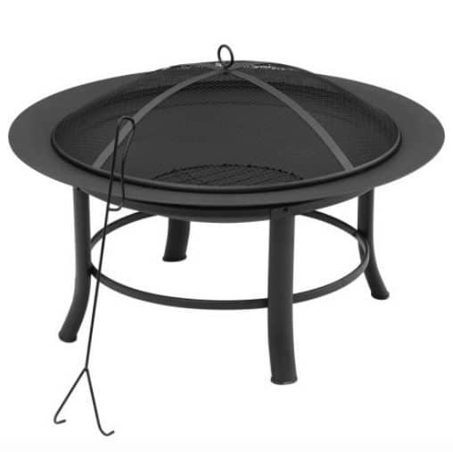 """Mainstays 28"""" Fire Pit Only $29.44"""