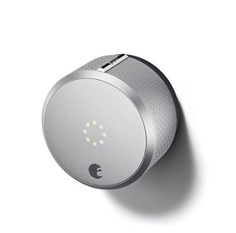 August Smart Lock 2nd Generation – Silver, Works with Amazon Alexa Only $89.99 (Was $229.99)