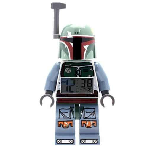 LEGO Star Wars Boba Fett Kids Minifigure Light Up Alarm Clock Only $18.43 (Was $29.99)
