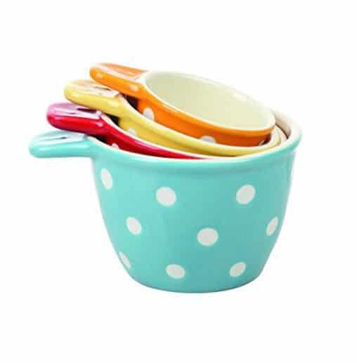Creative Co-Op Ceramic Measuring Cup Set Only $12.99 (Was $15.00)