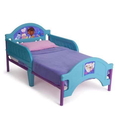Disney Doc McStuffins Toddler Bed ONLY $39.99 (Was $70)