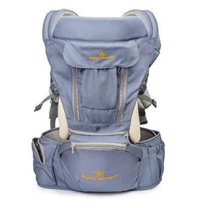 360° Baby Carrier with Hip Seat by Brighter Elements Only $59.99 (Was $125) **Excellent Baby Shower Gift**