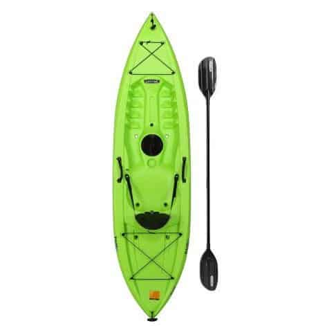 Lifetime Tahoma Kayak, Lime Green, with Paddle ONLY $208 (Was $300)
