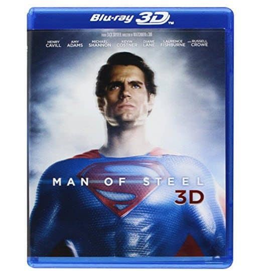 Man of Steel 3D Blu-ray Combo Pack $9.96 (Was $36)