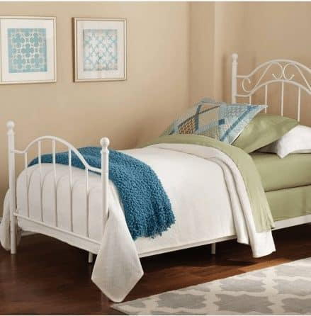 Mainstays Twin Metal Bed ONLY $59 (Was $99)