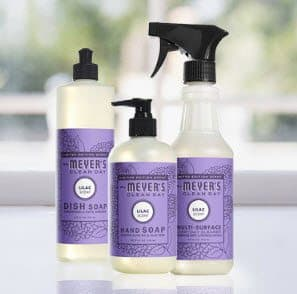 FREE Mrs. Meyer's Spring Cleaning Bundle **HOT**