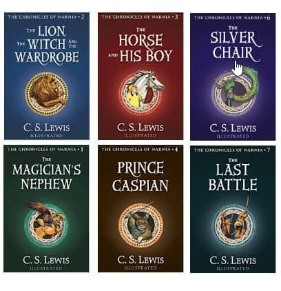 Chronicles of Narnia Kindle Books ONLY $1.99 Each