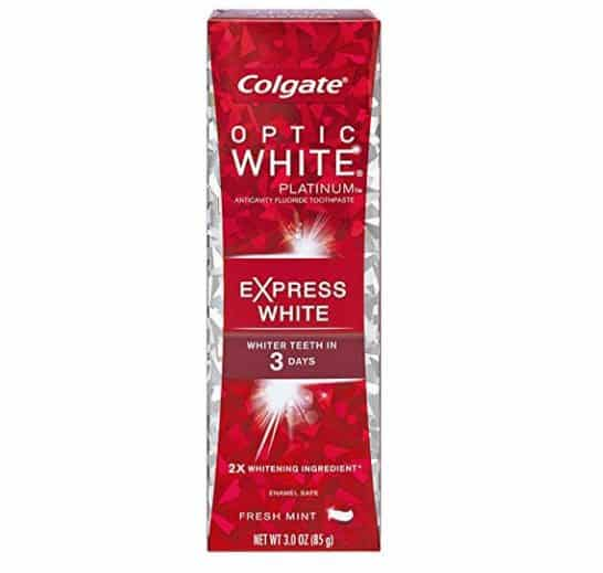 Colgate Optic White Platinum Toothpaste FREE After Credit