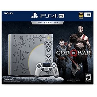 PlayStation 4 Pro 1TB Limited Edition Console - God of War Bundle Only $399.96 **Pre-Order**