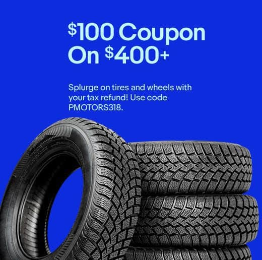 HUGE Savings on Tires from Discount Tire + $100 off $400 Code + Rebates up to $150 too!