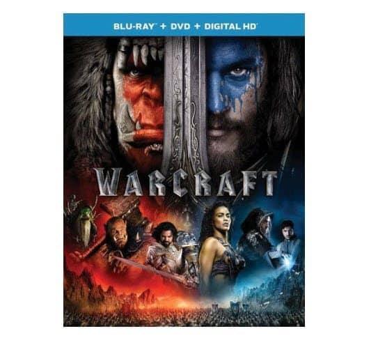 Warcraft Blu-ray + DVD + Digital Copy ONLY $6.48 (Was $30)