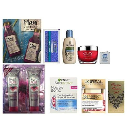 Women's Daily Beauty Sample Box FREE After Credit