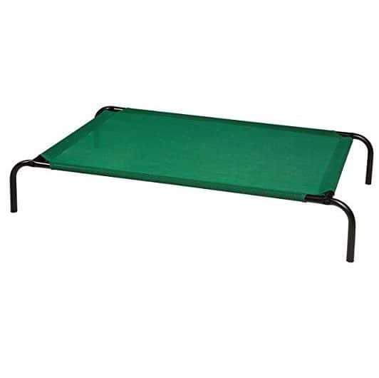 AmazonBasics Elevated Cooling Pet Bed - Large Only $23.50