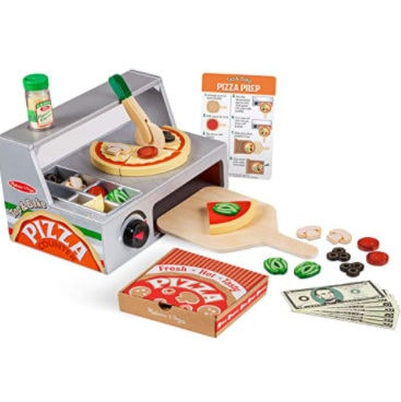 Melissa & Doug Pizza Counter Play Food Set Only .97 (Was .99)
