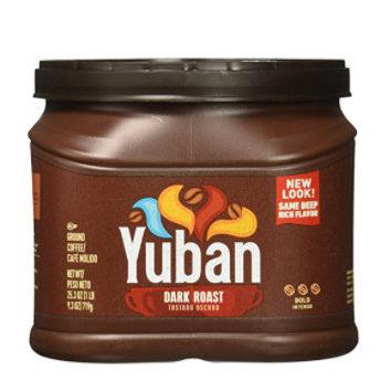 Yuban Dark Roast Ground Coffee 25.3 Ounce Only .74