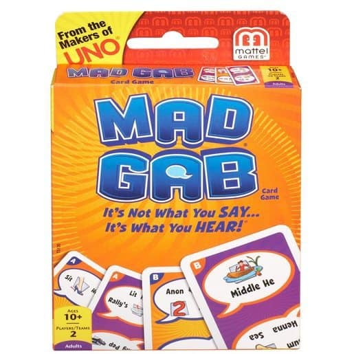 Mad Gab Picto-Gabs Card Game Only $4.99