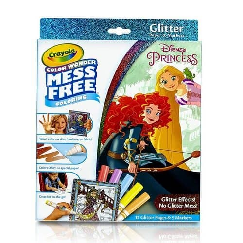 Crayola Color Wonder Princess Glitter Pad & Markers Only $7.97