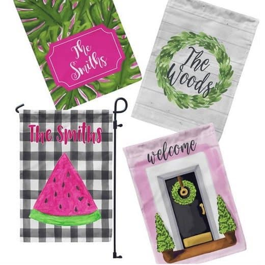 Personalized Garden Flags Only $9.99 **52 Designs**
