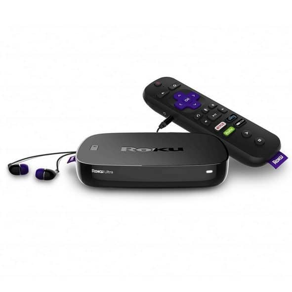Roku Ultra 4K/HDR/HD Streaming Player with Enhanced Remote $71.99 **Today Only**