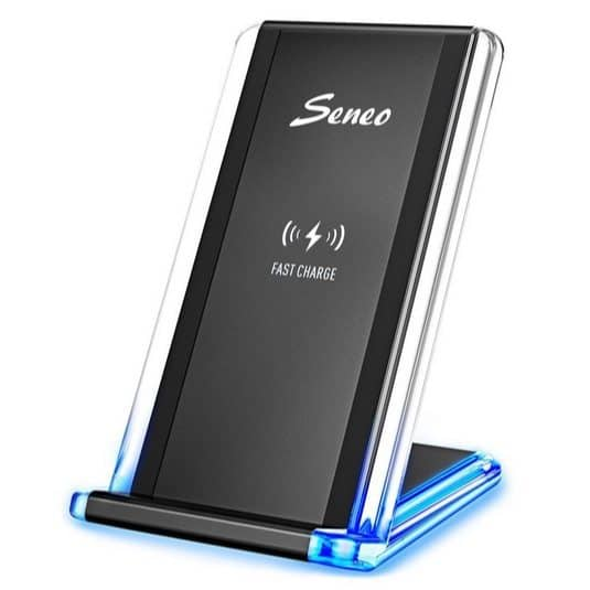 Seneo Fast Wireless Charger Stand Only $17.99
