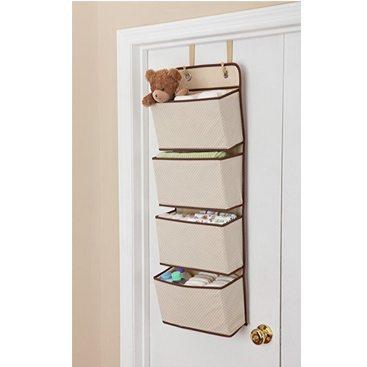 Delta 4 Pocket Nursery Over the Door Organizer Only $4.99