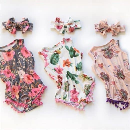 Adorable Pom Pom Rompers Only $12.99 **28 Styles**