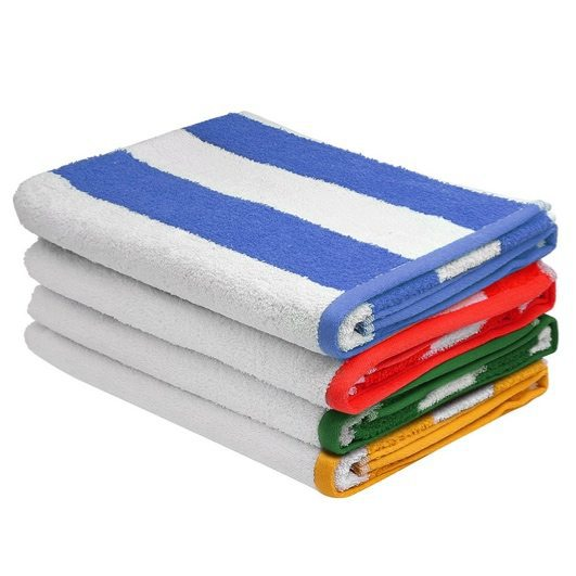 Pack of 4 Cabana Stripe Beach Towels Only $29.99 **Today Only**