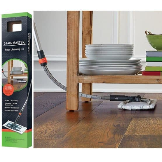STAINMASTER Microfiber Sweep and Mop Floor Cleaning Kit Only $9.59