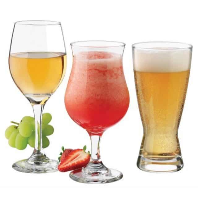 Libbey Celebrations 12-Piece Barware and Glassware Set Only $14.99