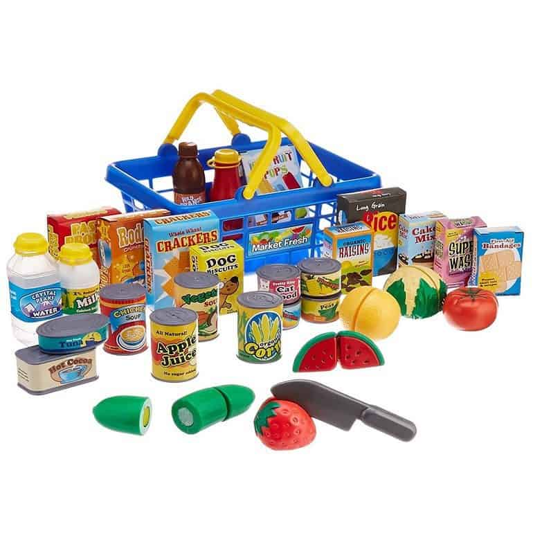 Grocery Shopping Basket Playset Only $16.88 (Was $34.99)