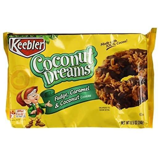 Keebler Fudge Shoppe Cookies Coconut Dreams 4-Pack Only $6.31