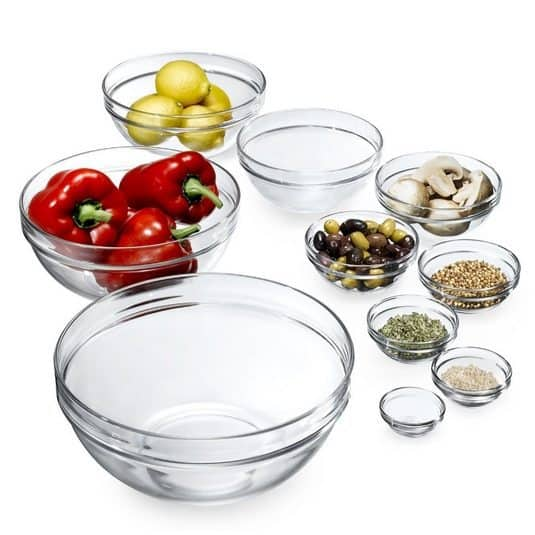 Luminarc 10-Piece Stackable Bowl Set $15.87 (Was $37)