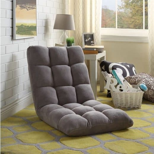 Soft Foldable Reclining Floor Chair $54.99 + Free Shipping
