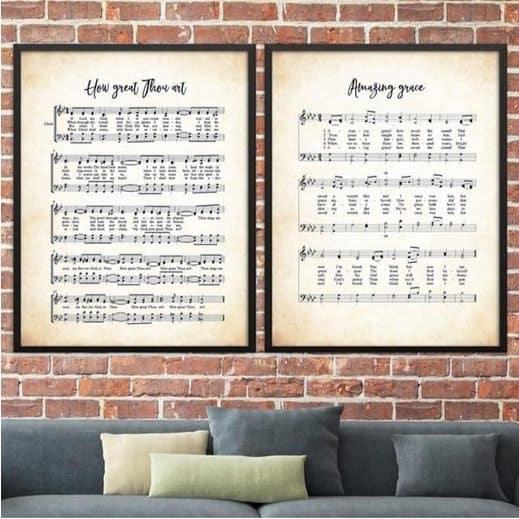 Cherished Hymn Prints Only $3.49 Each