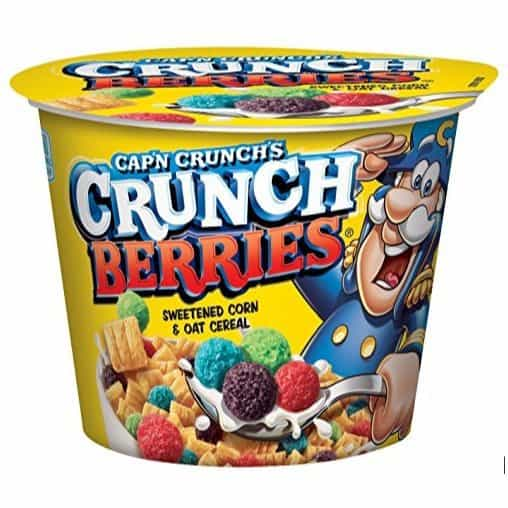 Cap'n Crunch Crunch Berries Breakfast Cereal ~ 12 Individual Cups Only $7.19