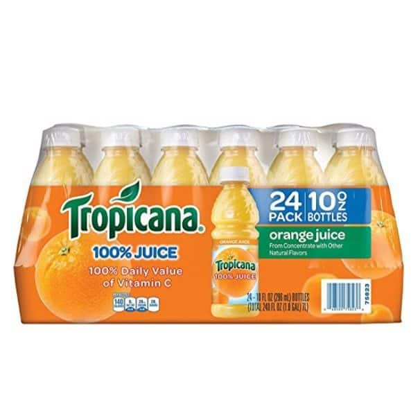 Tropicana Orange Juice 24-Pack Only $10.49