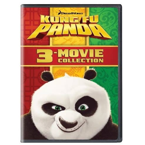 Kung Fu Panda: 3-Movie Collection Only $11.99