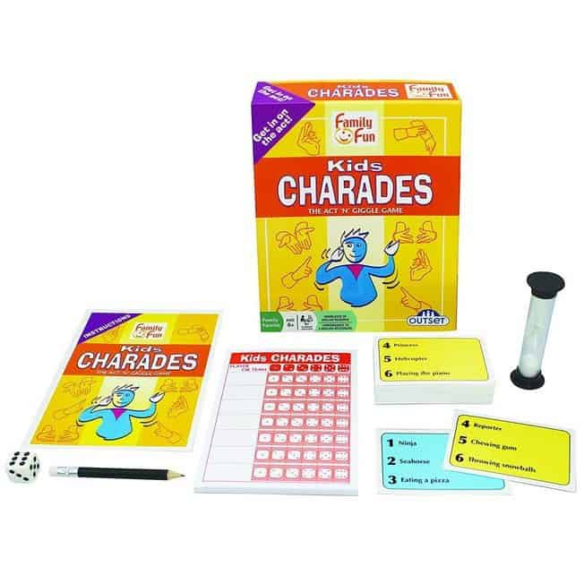 Charades for Kids Only $8.95