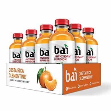 Bai Costa Rica Clementine Antioxidant Infused Drink 12-Count Only $12.58