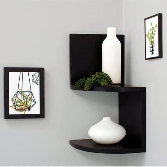 Kiera Grace Priva 2-Tier Corner Shelf Only $5.49