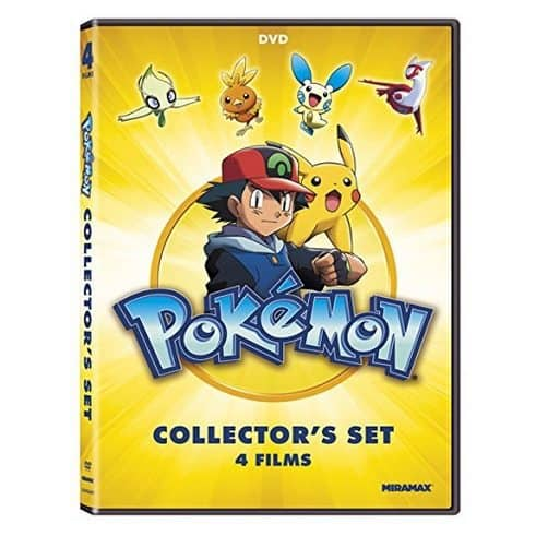 Pokémon Collectors 4-Film Set Only $4.99 **Add-On Item**