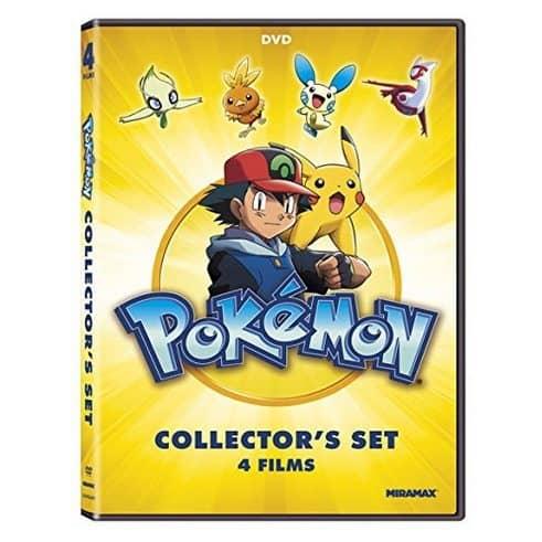 Pokémon Collectors 4-Film Set Only $3.92 **Add-On Item**
