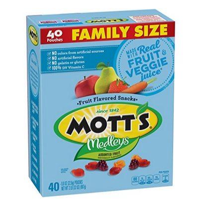 Mott's Medleys Fruit Snacks 40 Pouches Only $4.12