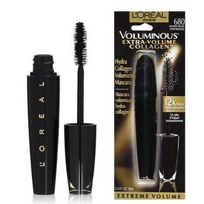 L'Oréal Paris Voluminous Extra Volume Collagen Washable Mascara Only $3.79