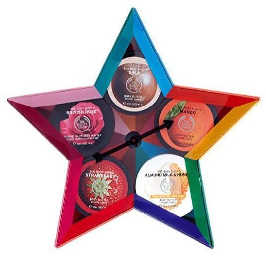 The Body Shop Body Butters Spinner 5 Piece Gift Set Only $12.08 (Was $27.00)
