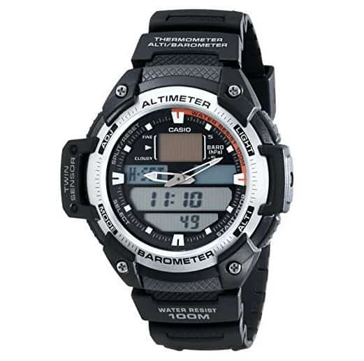 Casio Men's SGW400H-1B Sport Multi-Function Grey-Dial Watch Only $29.99 (Was $79.95)